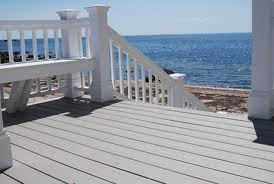 Beautiful vinyl decking